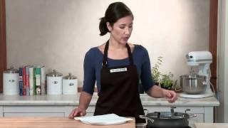 Kara Demonstrates the Use of the Calphalon Egg Poacher  Williams-Sonoma