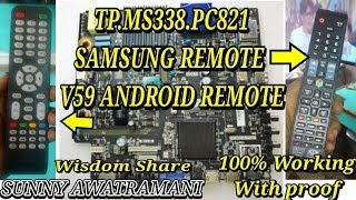 TP.MS338.PC821 Firmware Using SAMSUNG REMOTE  With Subtitles