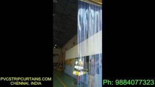 Sliding PVC Strip Curtains Suppliers, Sliding PVC Strip Door Manufacturers in Chennai.