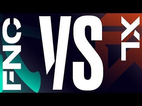 FNC vs. XL - Week 8 Day 1 | LEC Summer Split | Fnatic vs. exceL Esports (2019)