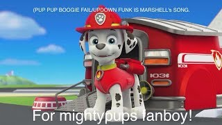 (For Mightypups fanboy,plz react)Pup pup boogie Fail!