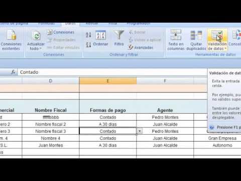 como hacer una factura en excel paso a paso 1 tutorial 1 YouTube