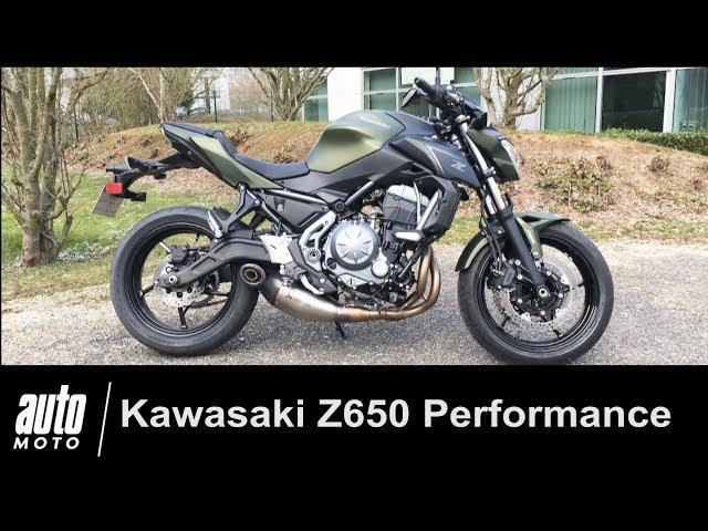 Kawasaki Z650 Performance Akrapovic ESSAI Auto-Moto.com