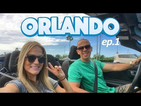 Primeiro dia em Orlando - ep.1