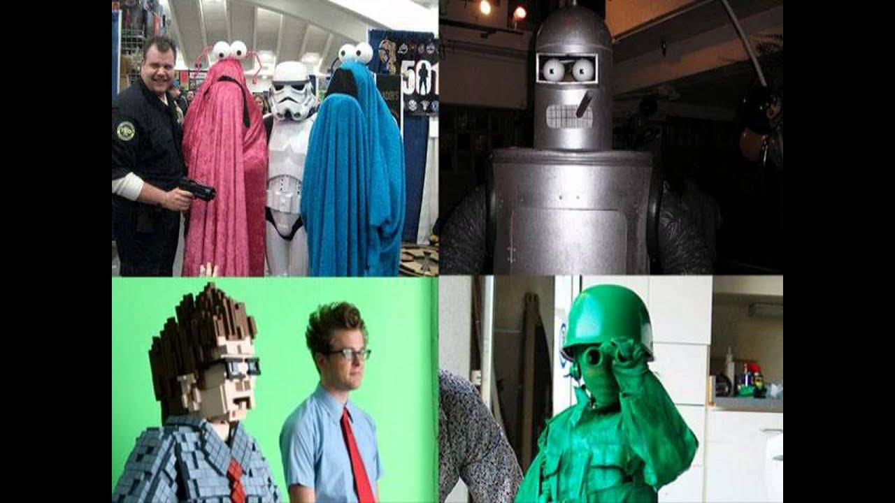 sc 1 st  YouTube & cool easy halloween costumes - YouTube