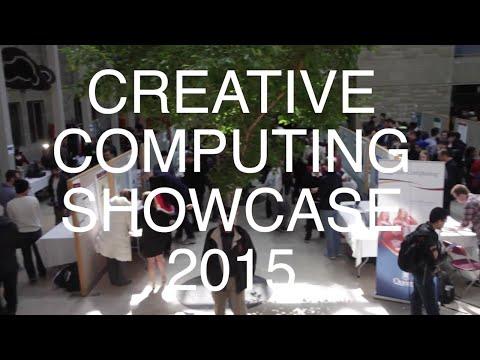 CREATIVE COMPUTING SHOWCASE 2015