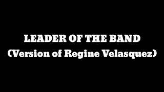 Leader of the band-Regine Velasquez Version | Karaoke | Jhay BS