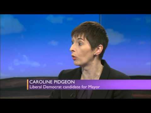 Caroline Pidgeon's LibDems London campaign