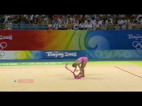 Olga Kapranova ribbon 2008 olympic games Beijing Q