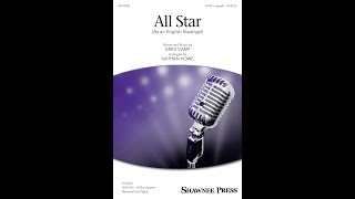 Baixar All Star (As An English Madrigal) (SATB Choir) - Arranged by Nathan Howe
