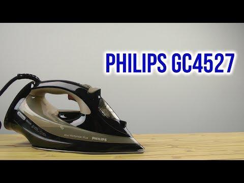 Распаковка Philips Azur Performer Plus GC4527