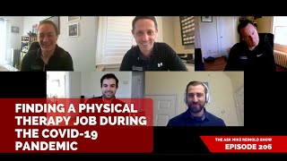 Finding a Physical Therapy Job During the COVID-19 Pandemic
