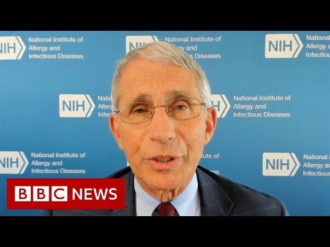 Trump-touted Covid-19 drug ineffective says Fauci – BBC News