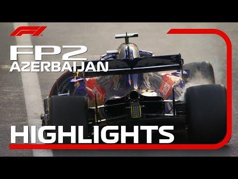 2019 Azerbaijan Grand Prix: FP2 Highlights