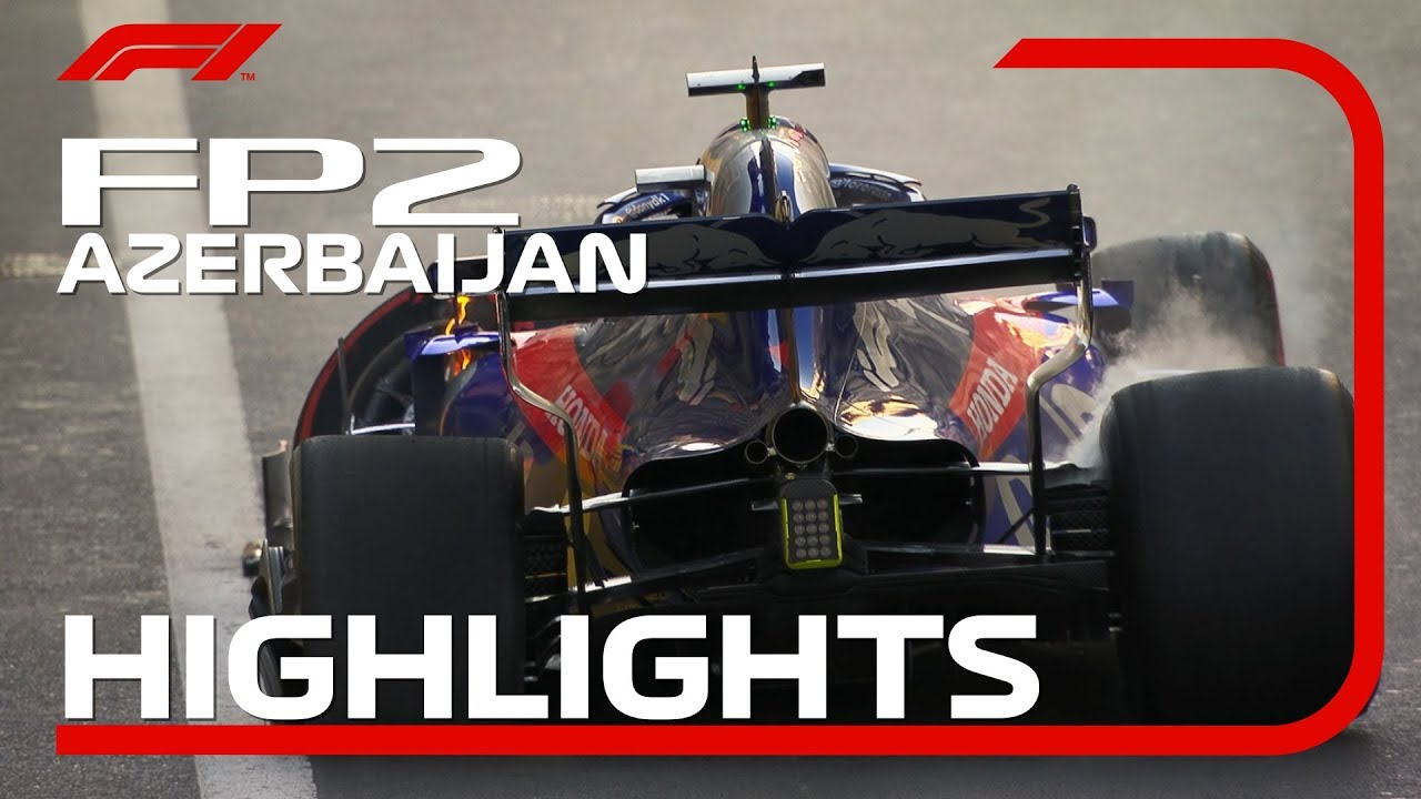 2019 Azerbaijan Grand Prix: FP2 Highlights