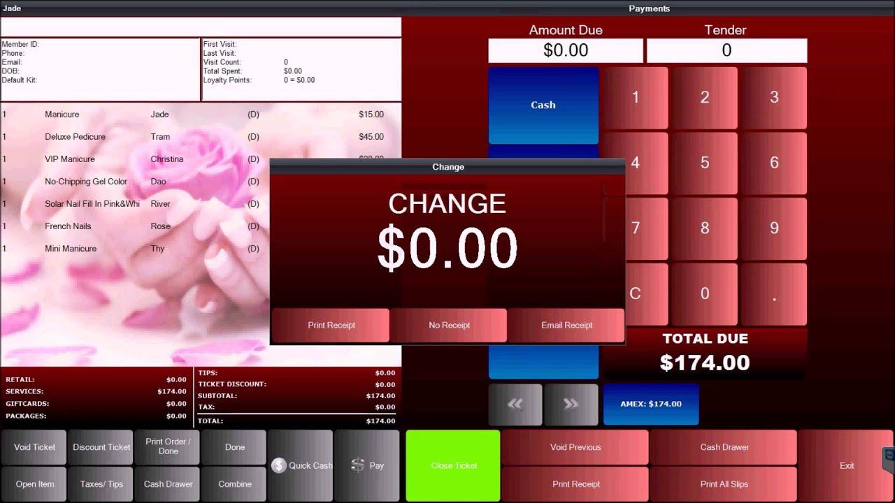 Blue Jay Nail Salon Pos Systems Nail Ftempo