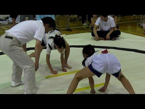 小学生の女の子でも、お相撲するんです♪ わんぱく相撲豊島区大会2013女子の部
