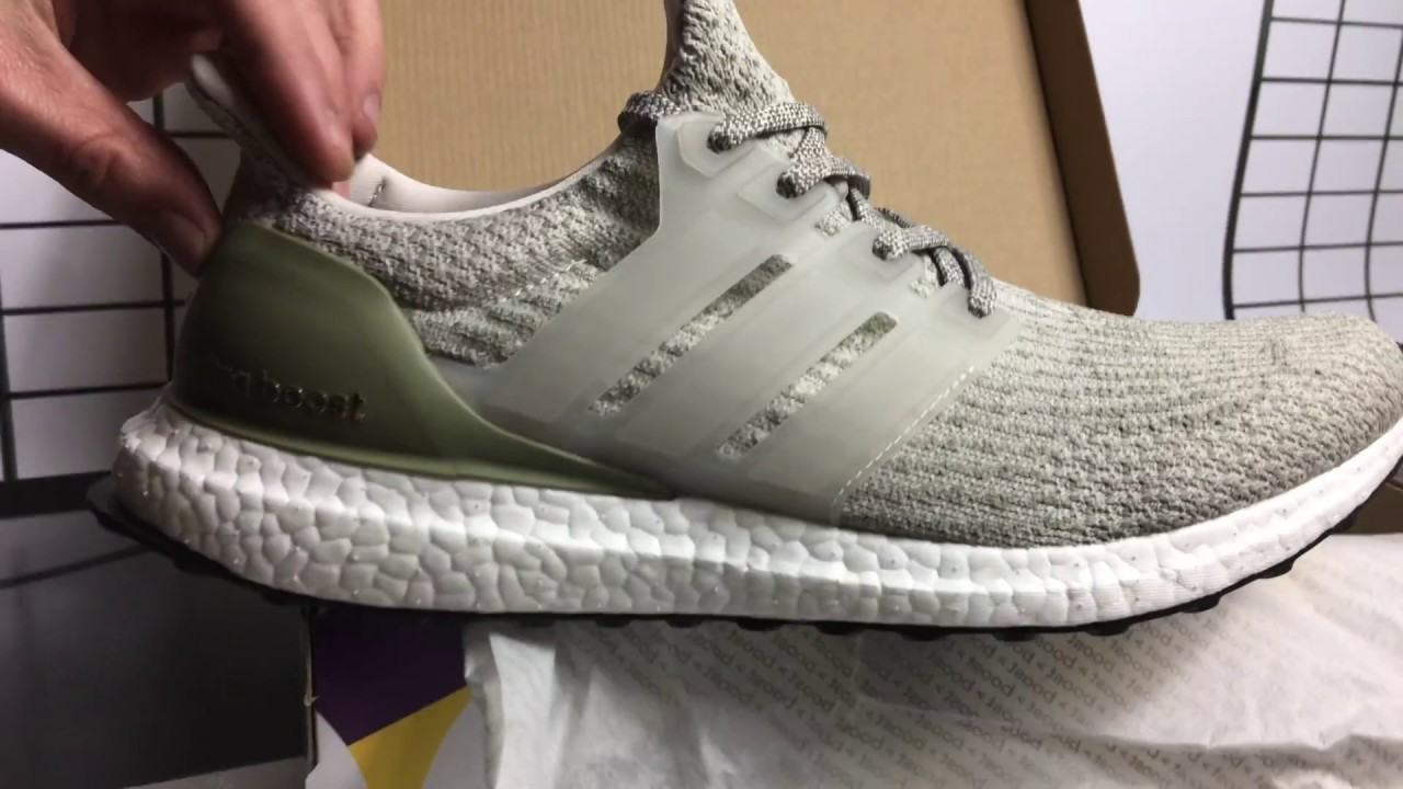 d5f6e52c508a3 adidas Ultra BOOST Pearl Grey Unboxing - YouTube