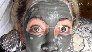 видео грязевые маски для лица
