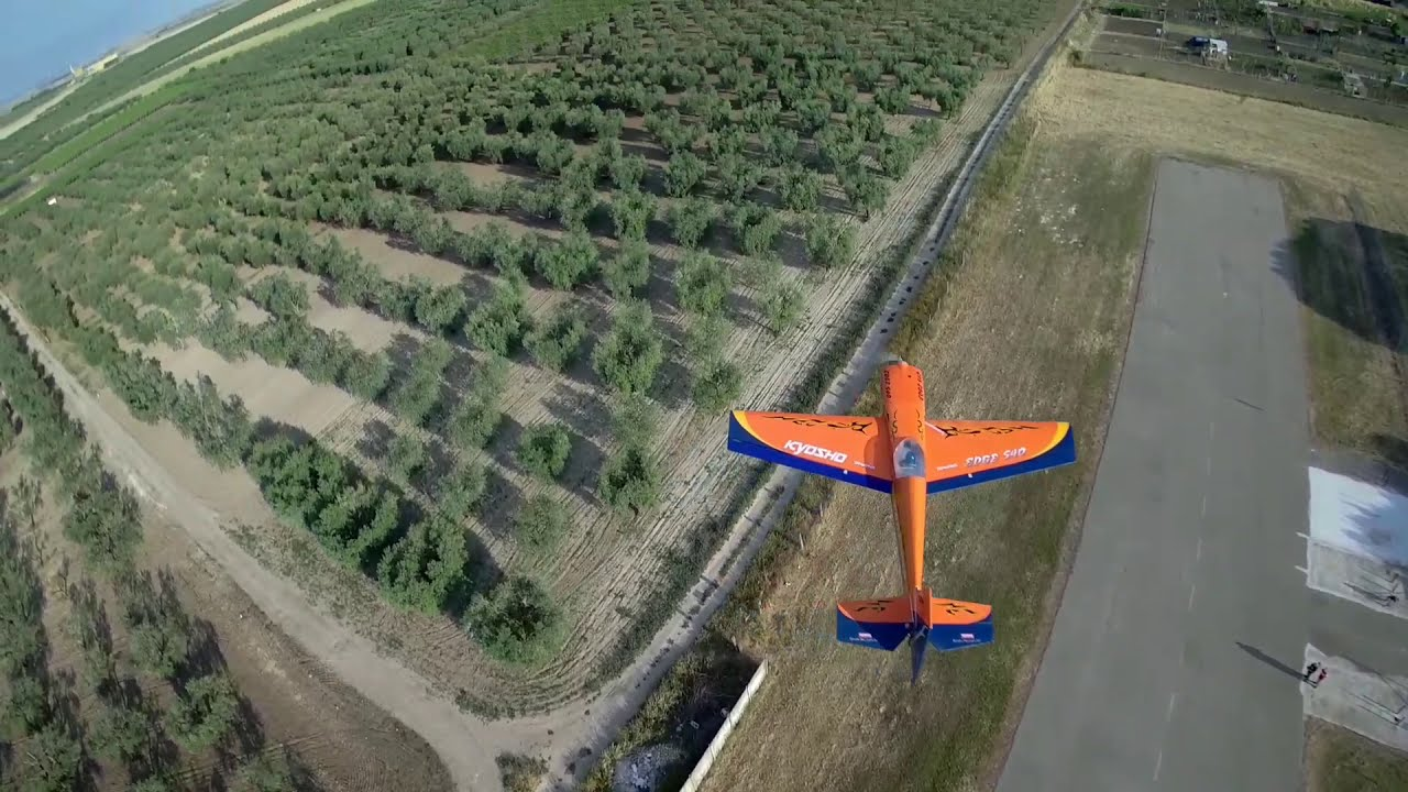 CINEMATIC - FPV DRONE TRACKS ACROBATIC RC PLANE фото