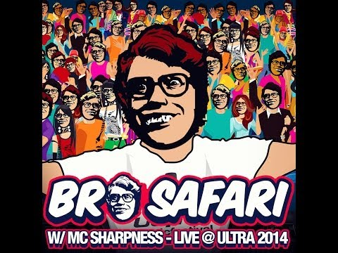 Bro Safari - Live @ Ultra 2014 (Full Mix)
