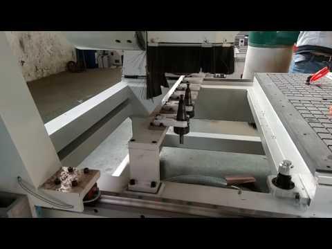 4-осевой фрезерный станок с автоматической сменой инструмента(3)