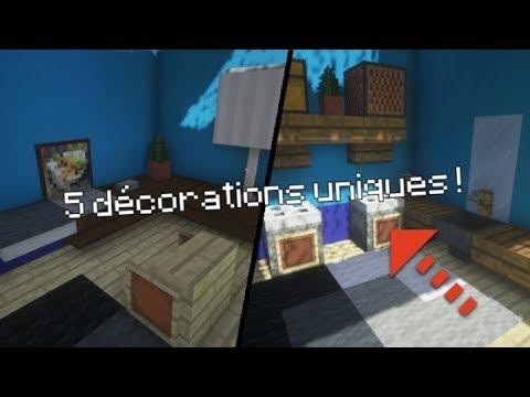 Top 5 Idees De Decoration N 5 Minecraft Youtube