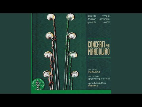 Giovanni Paisiello: Concerto in Mi bemolle maggiore per mandolino, archi e basso continuo....