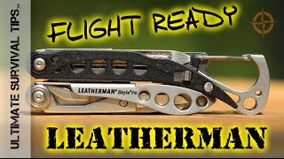 Leatherman Style PS - Multi-Tool - BEST EDC Flight Ready TSA Compliant Multi Tool?