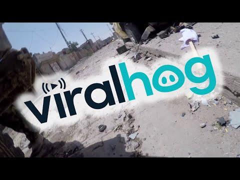 Iraqi Journalist's  GoPro Deflects a Sniper's Bullet