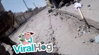Iraqi Journalist s GoPro Deflects a Sniper s Bullet