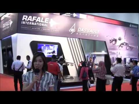 RAFALE Fighter Highlights, on Day 2 at LIMA 2015