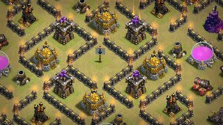 MAZE RUNNER TROLL BASE PART 1 || TROLL BASE SERIES || CLASH OF CLANS