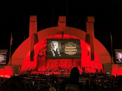 Game Of Thrones Live Concert Experience - Final 30 Minutes At The Hollywood Bowl