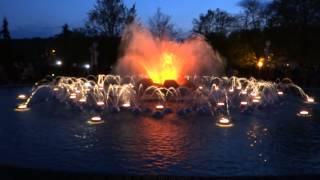 Mariánské Lázně - zpívající fontána - NABUCCO - Chorus of Herbew Slaves