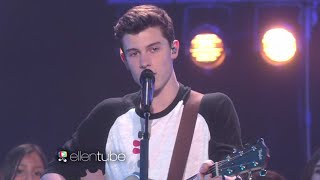 ♛Shawn Mendes Performs 'Stitches'The Ellen Show HD