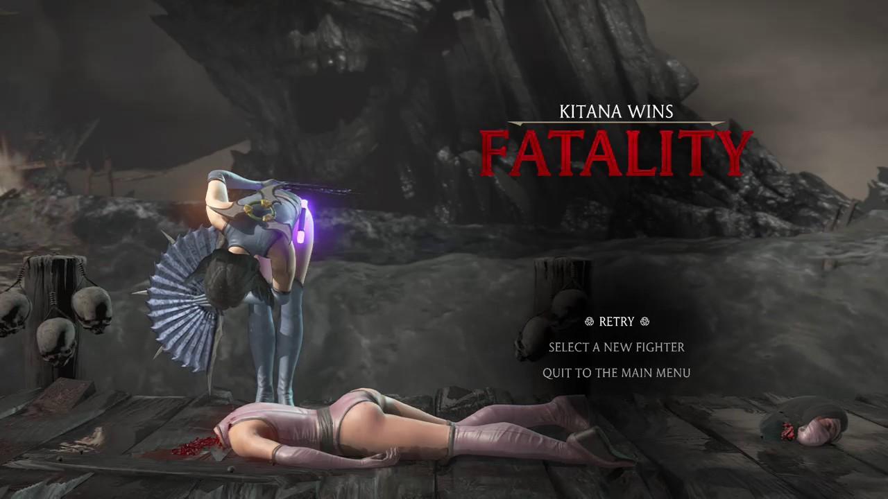 Mortal Kombat X Kitana S Fatality 3 Youtube