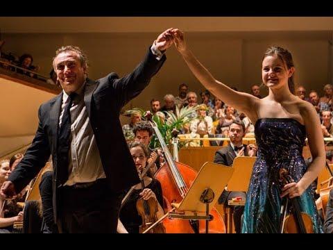Inés Issel Plays Violin Concerto In D Minor, Op 47 By Jean Sibelius (mvt.2)
