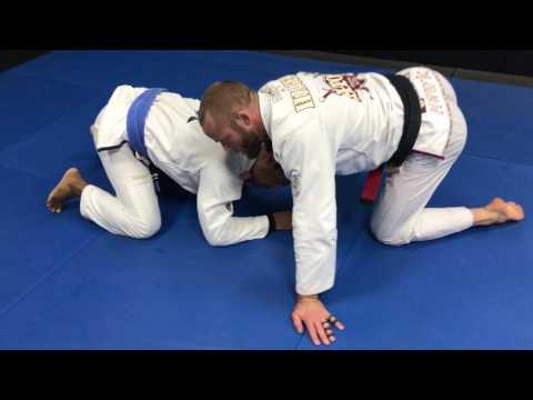 Josh Hinger - Jiu Jitsu Sweet Loop Choke Technique