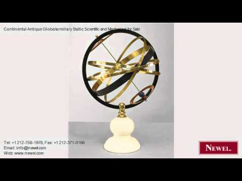 Continental Antique Globe/armillary Baltic Scientific and