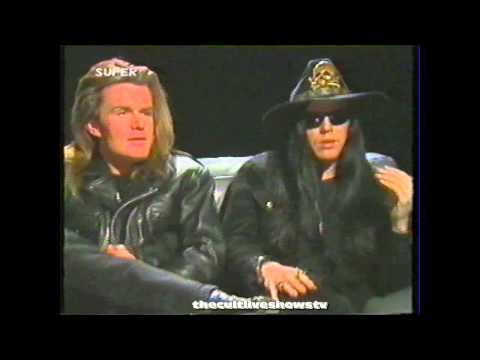The Cult - Superchannel interview 1989 - Ian Astbury - Billy Duffy