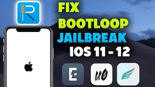 How To Fix Stuck BootLoop /Black Screen/ Recpring Loop/ Recovery Mode / IOS 11 - 12 With ReiBoot