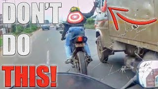STUPID, CRAZY & ANGRY PEOPLE VS BIKERS - Mirror Smash GONE WRONG!!