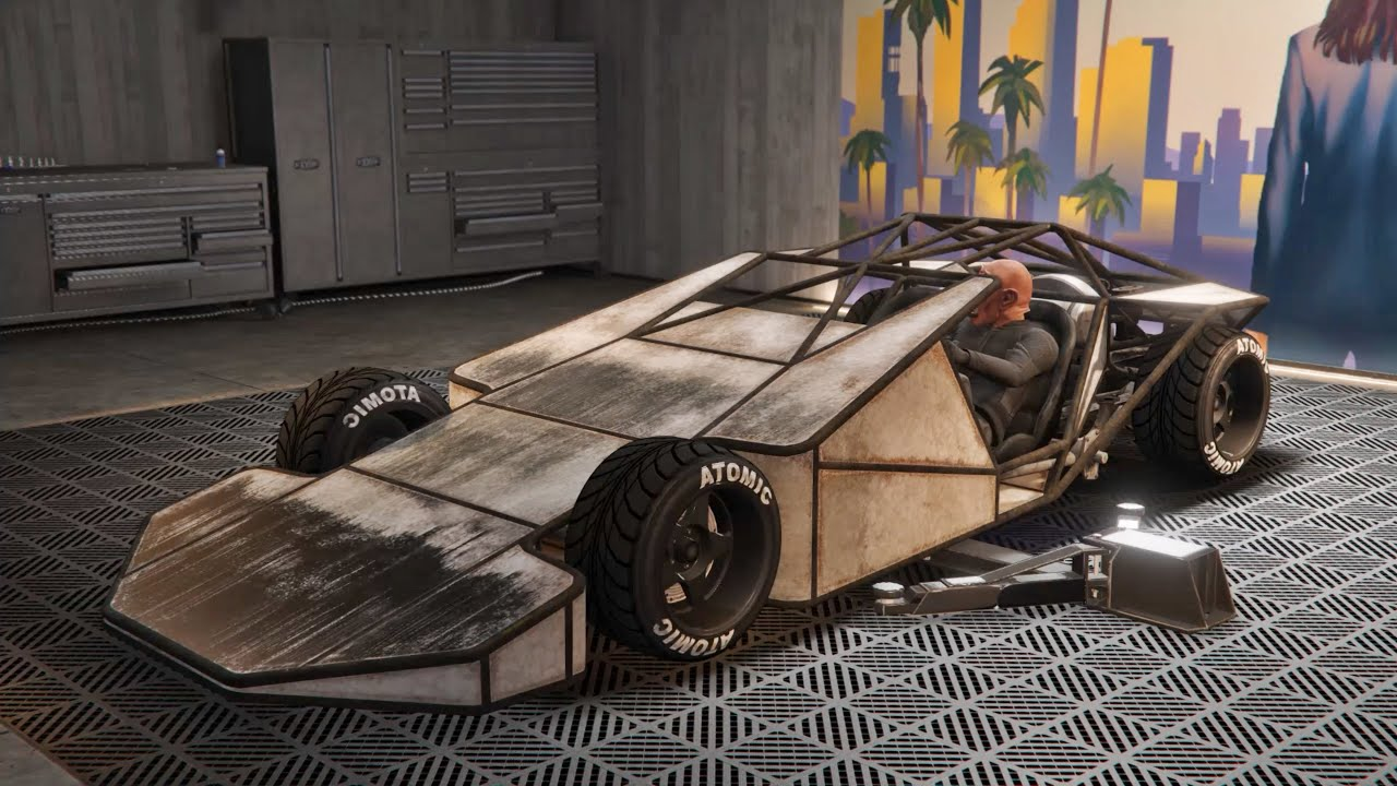 RAMP BUGGY CUSTOMIZE SPECIAL VEHICLE - GTA 5 ONLINE IMPORT/EXPORT