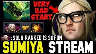 Sumiya Invoker Bad Start Against Viper | Sumiya Facecam Stream Moment #156