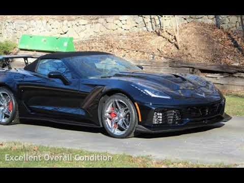 2019 corvette zr1 manual for sale