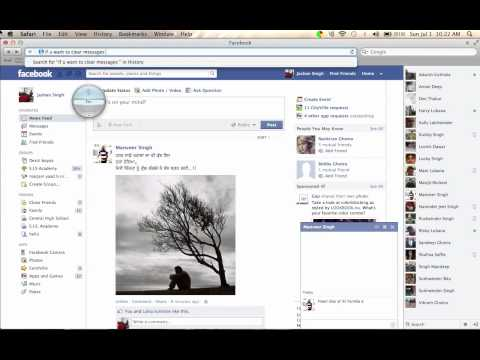 How To Clear Chat And Messages On Facebook By Mac Or Pc