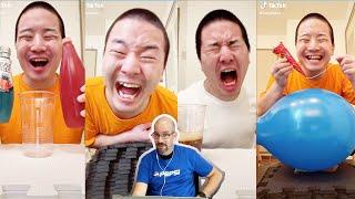 Reaction To Crazy and Funny Videos of Junya   @Junya 1 Gou Funny TikTok Videos   @Junya.じゅんや