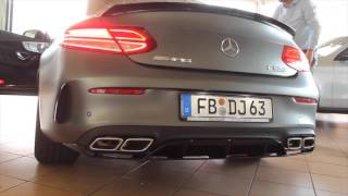 ANIL SEN's Mercedes Benz C63 AMG S Coupe Edition 1 - Mein neues Auto! First Start up - Exhaust Sound