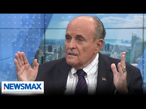 Rudy Giuliani blasts big tech and Bill De Blasio | American Agenda